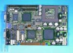 Advantech PCI-6771 Rev. B2 Single Board Computer (SBC)/w VGA, 256MB PC100 RAM, Flash 96MB, DB-9, LAN, OEM (одноплатный компьютер)