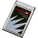 SanDisk SDP3B-16-101-80 16MB Industrial Grade PCMCIA ATA Flash Disk  (карта памяти)