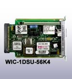 Cisco Systems WIC-1DSU-56K4 1-Port 4-Wire 56Kbps DSU/CSU WAN Interface Card, OEM (модуль расширения)