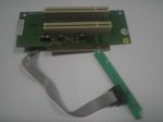 PCI Riser card for CANDY2 ROM, 2xPCI, 2-3U Rackmount chassis, LCT-M, OEM (переходник)