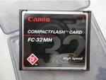 Canon 32MB FC-32MH High Speed CompactFlash Memory Card  (карта памяти)