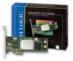 Появились контроллеры LSI Logic MegaRAID SAS 8308ELP 8 Port RAID Controller, 128MB DDR SDRAM, PCI Express x4, Up to 300MBps per Port - 2 x SFF-8087 SAS 300m Serial Attached SCSI Internal, retail. Цена-20720 руб.